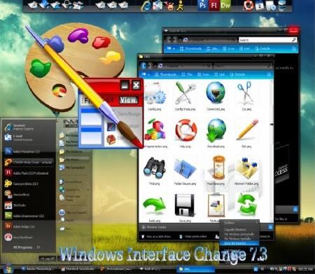 Windows Interface Change